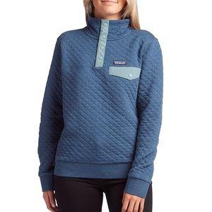 Mildly worn Patagonia organic snap pullover.
